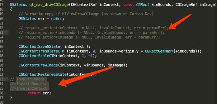 qt static linking mac os x