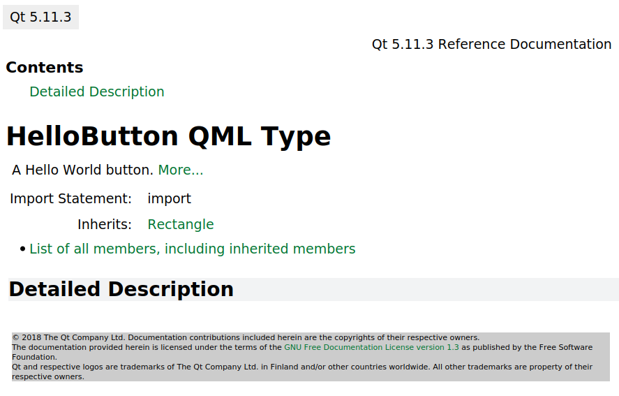 Linking to Qt offline documentation with Qdoc | Qt Forum
