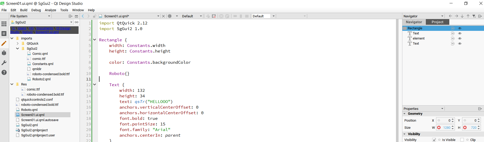 How to add font into Qt Design Studio 1 1 | Qt Forum