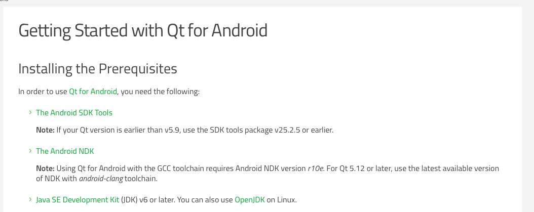 App compiling problems on Qt5 13 or 5 12 3 for Android 64bit | Qt Forum