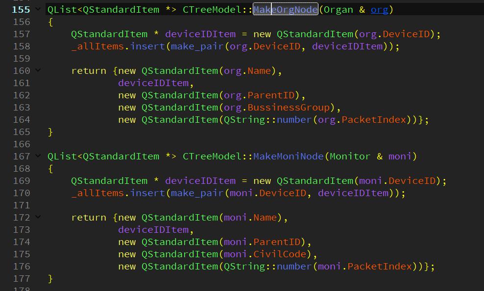 HELP! QStandardItemModel::findItems(keyword, Qt