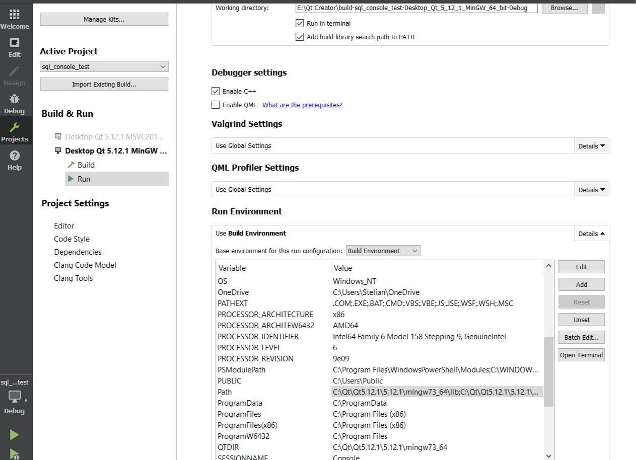 Error QMYSQL Plugin on Windows | Qt Forum