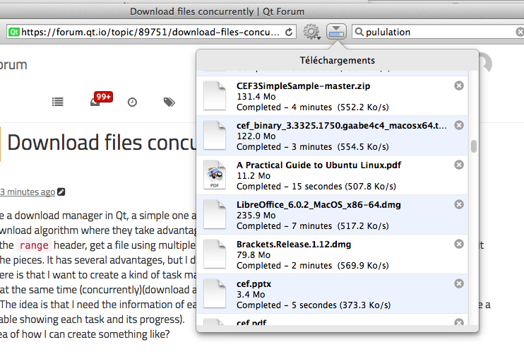 Download files concurrently | Qt Forum