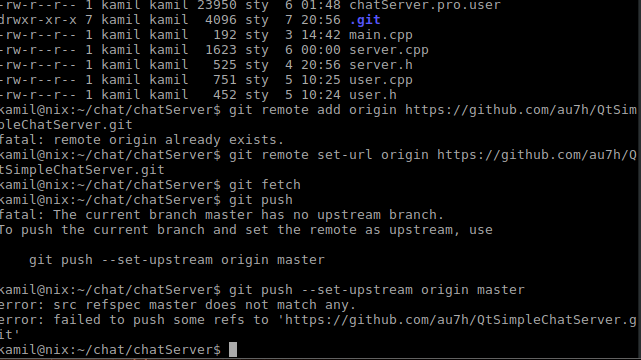 How to send project to github | Qt Forum