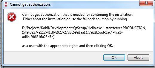3_1527757715796_User Account Control.jpg 2_1527757715796_Helloexe1.JPG 1_1527757715796_Helloexe.JPG 0_1527757715795_Cannot get authorization.JPG