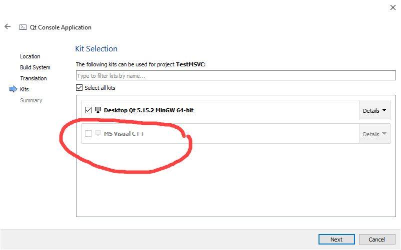 Will not allow MSVC Kit.jpg