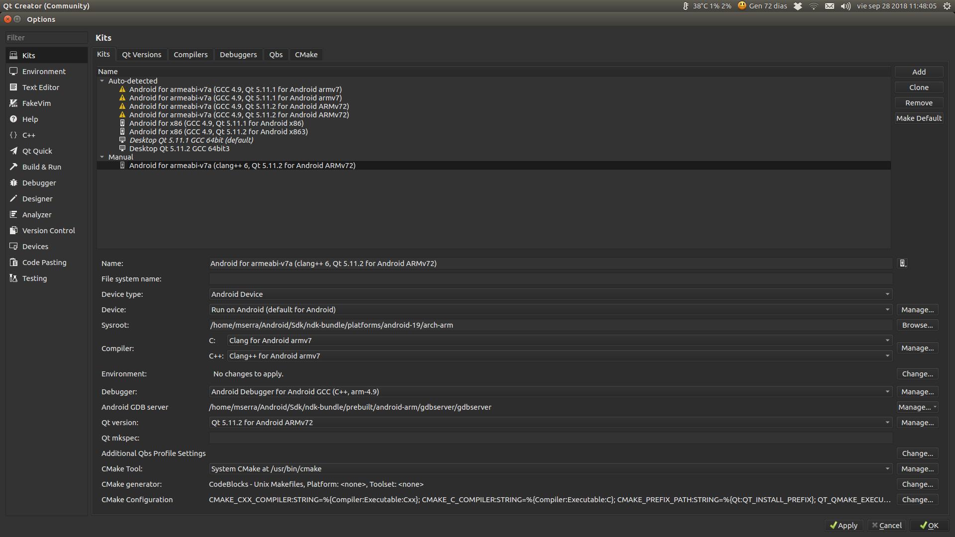 Qt creator + Android + clang | Qt Forum